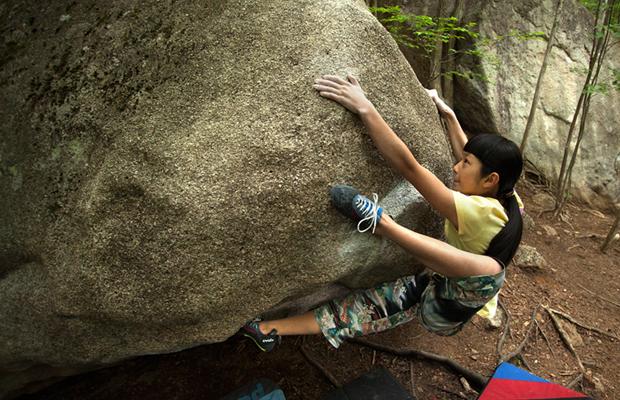 ashima-climbing